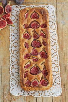 Tarta de higos y almedras. Receta paso a paso. (Cocinando entre Olivos) Fig Recipes, Sweet Recipes, Dessert Recipes, Cooking Recipes, Pan Dulce, My Dessert, Sweet Tarts, Cake Shop, Sweet Bread