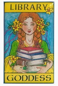 O cão que comeu o livro...: A deusa da biblioteca / Library goddess