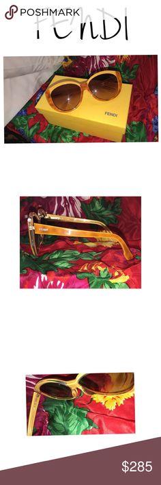 🚨CLEARANCE🚨 Authentic Fendi Sunnies Super Vibrant Attention Grabbers 💕 Fendi Accessories Sunglasses