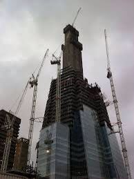The shard being built