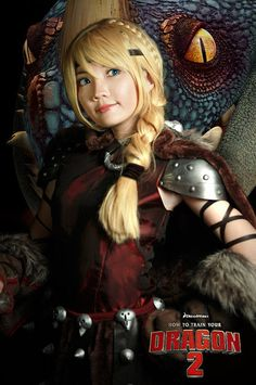 How to train your dragon 2 - Astrid by nyaomeimei.deviantart.com