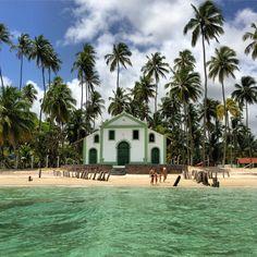 Igreja de São Benedito séc XVIII Praia de Carneiros Tamandaré/PE/BR