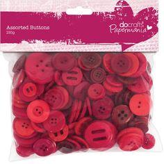 Knoflíky mix (250g) Červené Scrapbooks, Decoupage, Fimo, Scrapbook Albums, Scrapbooking, Scrapbook