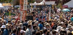 Maker's Faire!  Festival of inventions and creative concepts.  In SF Bay Area mid-May.