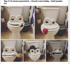 Funny Cute, Haha Funny, Hilarious, Funny Picture Quotes, Funny Pictures, Hobby People, Toilet Art, Toilet Paper, Finding A New Hobby