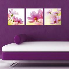 Pink Cosmea Wall Decal
