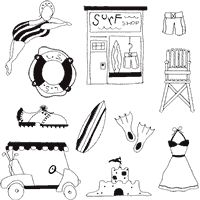 Summertime Embroidery Designs