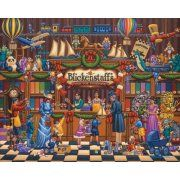 Jigsaw Puzzle - Vintage Toy Store 100 Pc By Dowdle Folk Art