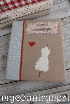 My notebook covers for patterns