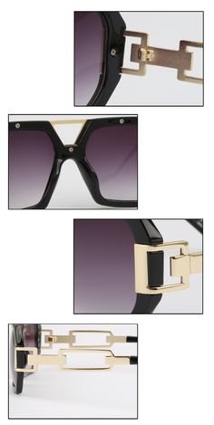 90577e9926b5e Michelle Flat Top Men Glasses Frame Brand Designer Square Metal Gold  Sunglasses For Men Optical Mirror Sun Glasses Male