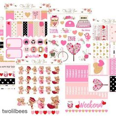#Repost @twolilbees with @repostapp. This adorable kit from @twolilbees is a must have!  Hi everybody . Our Limited Edition Valentine's Day Kit will be released tomorrow at 6:00 pm EST. Orders will start shipping on 01/19. All other listings will be marked as inactive so we can get the kits out fast. It we I'll be available in both vertical and horizontal layout. Also first 200 orders will get the cute bear sticker sheet for free . Love you all María  #weloveec  #plannerlove #planneraddict…