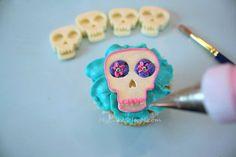 Dia de los Muertos–Cupcakes