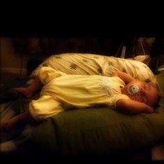 Sleeping angel. :)