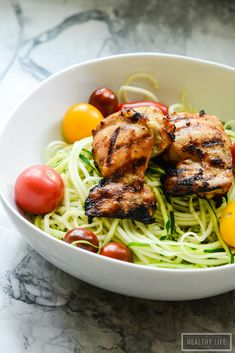 This Maple Mustard Grilled Chicken is packed full of delicious clean flavor, takes minutes to prep and 15 minutes to cook. You will make this your go to recipe when you are short on time but want to feed the family a wholesome delicious low calorie, high protein dinner.  - A Healthy Life For Me