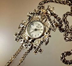 Hey, I found this really awesome Etsy listing at https://www.etsy.com/listing/170060824/watch-necklace-or-brooch-vintage-lind
