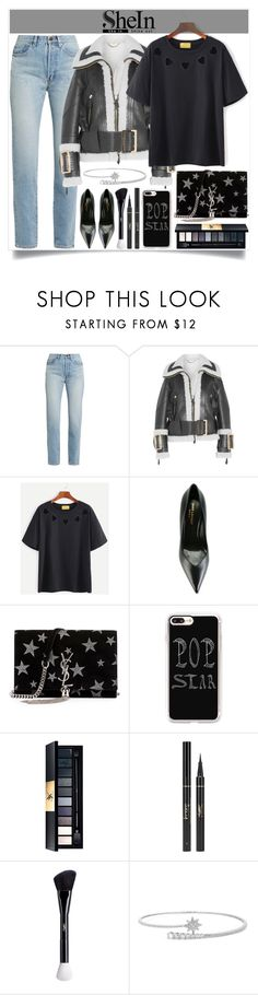 """Pop Star"" by itsybitsy62 ❤ liked on Polyvore featuring Yves Saint Laurent, Burberry and Casetify"
