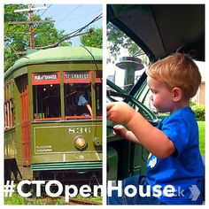 """From trolleys to trucks! Save this itinerary for #Connecticut Open House Day on June 13. Take advantage of Lutz Children's Museum's FREE admission to their """"Touch-a-Truck"""" event, then head to the Connecticut Trolley Museum for discounted trolley rides. For more info, click the link in our bio. #CTOpenHouse"""