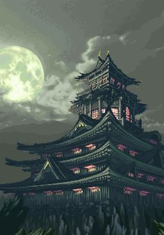 GIF.......JAPAN CASTLE........TUMBLR.COM.........