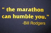 The Marathon can humble you