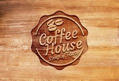 TweetSumoMe Today we have come up with a photorealistic carved wood logo mockup in PSD format. It's a frontal perspective mockup with a sharp and clear effect of the wood carving that you can see.