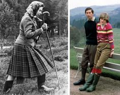 Hunter-Boots-Queen-Elizabeth and Princess-Diana