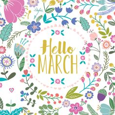 Hello March 1st! One of my four favorite days lol