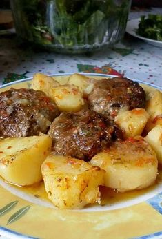 Cookbook Recipes, Meat Recipes, Cooking Recipes, Greek Cooking, Easy Cooking, Food Tasting, Food Decoration, Burger, Greek Recipes
