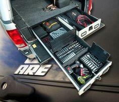 Jeep tool box