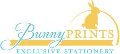 BunnyPrints.com Giveaway Bunny Prints is a wonderful site that offers items like Baby Shower invitations, Birthday invitations, Return Address Labels, Thank you cards and so much more!