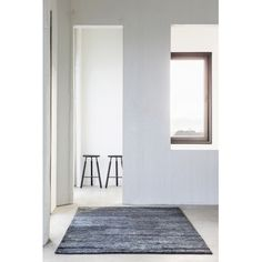 Massimo Black Hemp Tribeca Rug | 3 Sizes  The Massimo Sumace Hemp Rug Black is hand-knotted and hand woven from the finest of natural yarns made from 100% Hemp. The notable excellent workmanship comes from centuries of technique and tradition. Nothing says 'Welcome Home' like the warmth of a beautiful carpet. #massimorugs #contemporaryrugs #modernrug #black #rugs #blackrug