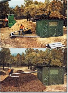 how to heat a building using compost.  NEVER THOUGHT ABOUT THIS !!