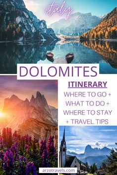 Headed to Dolomites in Italy? I am jealous. The Dolomites are amazing. And even though, I envy you, I am sharing some tips with you, onthe best things to do in the Dolomites.While Northern Italy has a lot of beautiful places to visit, the Dolomites are one of the most interesting. In this post, you will find out about the best things to do in the Dolomites, the best places to see. There will also be travel tips, whether you arrive by car or public transportation.