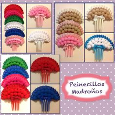 [gallery ids& type& [gallery ids& Hair Pins, Ladybug, Crochet Necklace, Diy Crafts, Birthday, Ideas, Fashion, Carnival, Spain