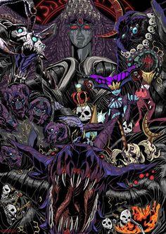 Bayonetta, Infernal Demons