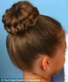 Amazing high bun