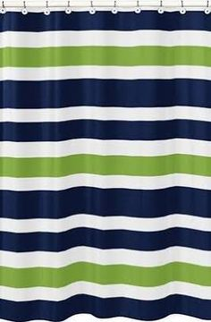navy shower curtain - Google Search