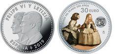 2019- ESPAÑA - 30 EUROS DE PLATA Las Meninas  Peso 18 Gr Euro, Decorative Plates, Tableware, Home Decor, Toddler Girls, Stamps, Silver, Dinnerware, Decoration Home
