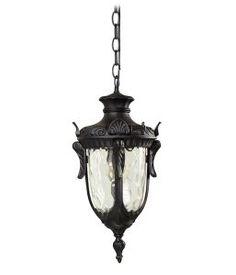 Elstead philadelphia Black Chain Lantern