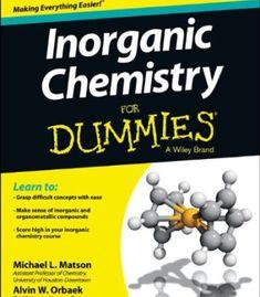 Inorganic Chemistry For Dummies PDF