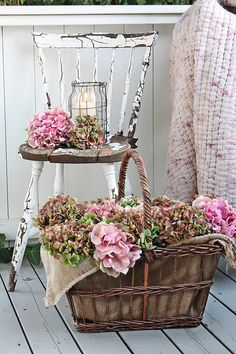 The beauty with hydrangeas is that you can enjoy the blooms from summer through the autumn