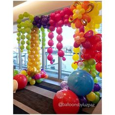 Tropical Moschino Arch to celebrate Kylie's birthday. (Love the colors) . . #moschino #moschinopartytheme #chicevents #miamievents #balloondelivery #awesomeparties #wowfactor #enchantingparties #balloonarch #balloonwall #balloondecoration #parties #miami #balloonartist #eventplanner #festaslindas #miami #fiestas #southflorida #globos #gemarballoons #baloes #festas #ideiasfestas #gemar #agate #inspirations #Balloonsbyluzpaz #balloonarch