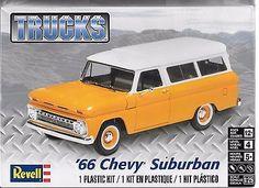 1:25 Revell 4409 - '66 Chevy® Suburban - Plastic Model Kit NEW