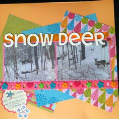 Two new #scrapbook layouts to share!