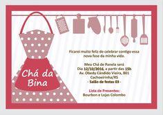 Chá da Panela - Convite