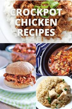 Crockpot Chicken Recipes ⋆ Bites 'N Pieces Slow Cooker Lemon Chicken, Slow Cooker Mexican Chicken, Slow Cooked Chicken, Chicken Meal Prep, How To Cook Chicken, Honey Balsamic Chicken, Balsamic Chicken Recipes, Easy Chicken Recipes, Beef Recipes