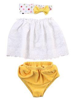 Amazon.com: 3pcs Suit Baby Girl Clothes Strapless Tops Skirts+Briefs Outfits Set Sunsuit: Clothing  https://www.amazon.com/gp/product/B01IOYK3SC/ref=as_li_qf_sp_asin_il_tl?ie=UTF8&tag=rockaclothsto_toys-20&camp=1789&creative=9325&linkCode=as2&creativeASIN=B01IOYK3SC&linkId=3698097a85a0e62523e6c6fa3da95dfe
