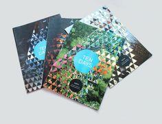 """Ten Days"" brochure for the bi-annual arts festival in Tasmania"