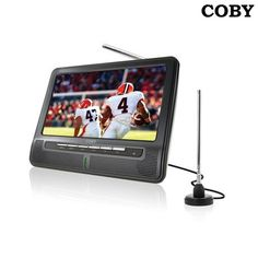 Coby 7' 480p Widescreen LCD TV at 49% Savings off Retail!