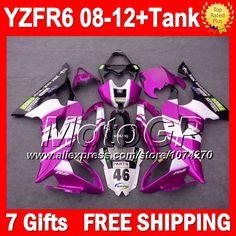 Купить товар7 подарки для YAMAHA розовый FIMER переводные YZFR6 YZF R6 YZF600 P97253 YZF R6 2008 2009 2010 2011 2012 розовый белый blk 08 09 10 11 12 обтекателя в категории Щитки и художественная формовкана AliExpress.                              Удостоверение личности aliexpress: MotoGP