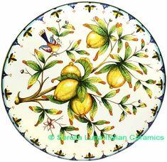 Tuscan Lemon Plate